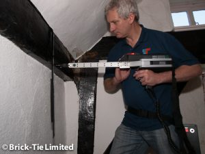 micro drilling timber in listed buildings