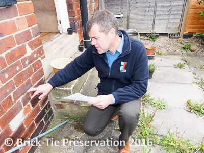 diagnostic damp survey for mould growth