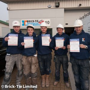 PASMA qualified - again!