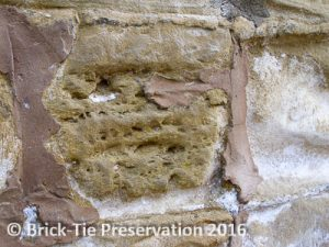 lime pointing replacing cement pointing