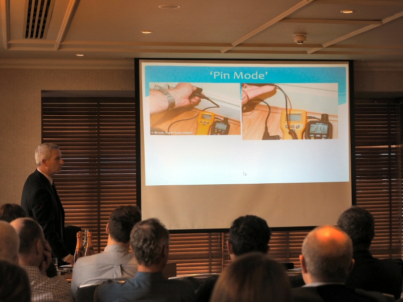 pin mode meters and expert damp surveys