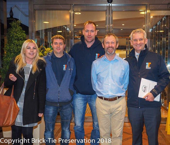 Brick-Tie members of the professional biocide users register in Garforth Leeds