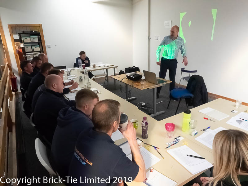 Brick-Tie Ltd traing for good mental health